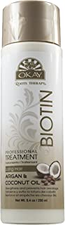 OKAY | Roots Therapy Professional Biotin Treatment | For All Hair Types | Revitalize - Strengthen - Prevent Breakage | Wit...