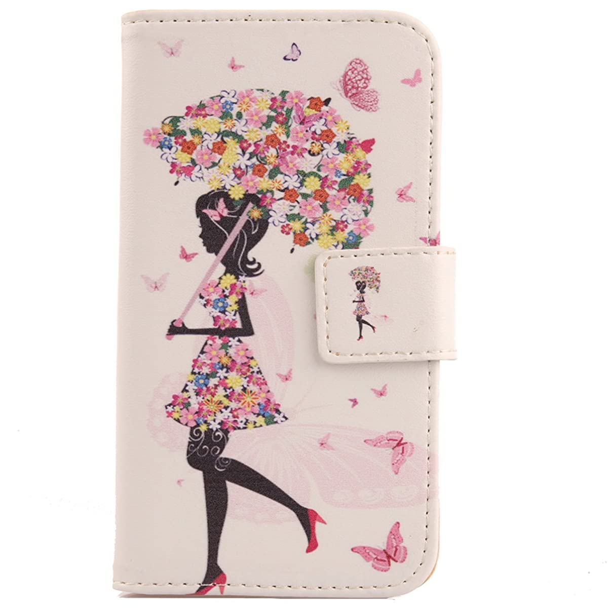 Lankashi Pattern Wallet Design Flip PU Leather Cover Skin Protection Case for Hisense Infinity F24 5.99