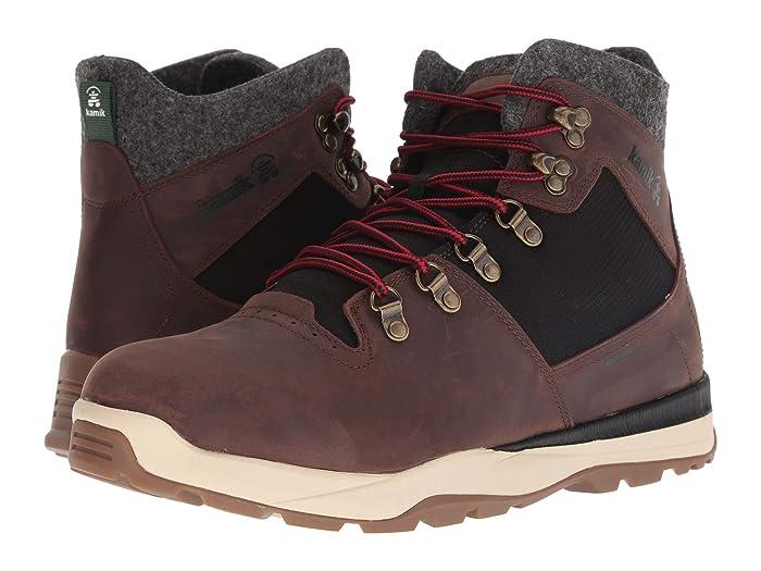 Kamik  Velox (Dark Brown) Mens Lace-up Boots