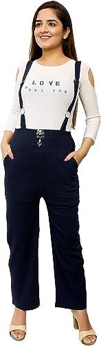 Casual WEAR Girls Cotton Lycra Jumpsuit