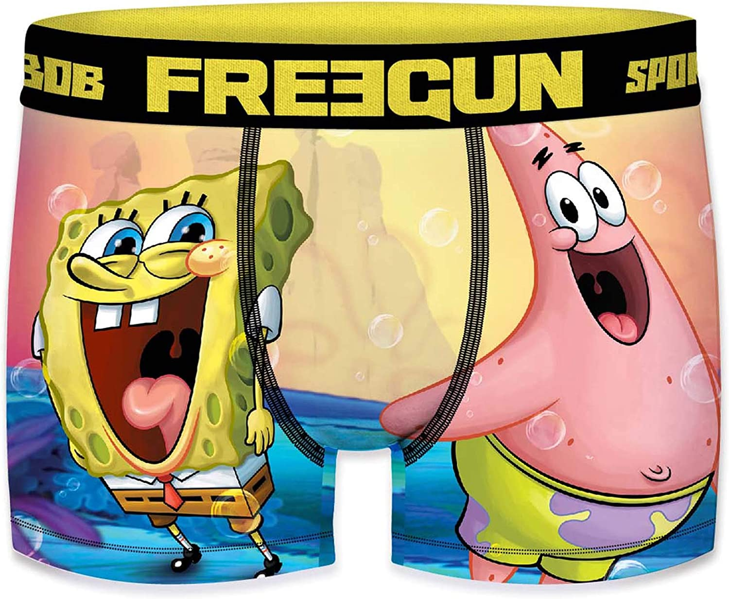 FREEGUN Boxer Boys Spongebob Squarepants 2019