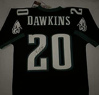 Brian Dawkins Signed Jersey - Mitchell & Ness Beckett Bas Coa - Beckett Authentication - Autographed NFL Jerseys