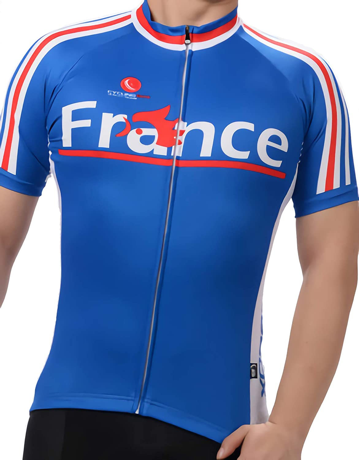 Men's Breathable Short Sleeve Cycling Cup free shipping France World online shopping St Jersey