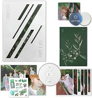 ASTRO 1st Album - All Light [ WHITE ver. ] CD + Photobook + Lyrics Book + Postcards + Sticker + Photocards + FREE GIFT / K-pop Sealed