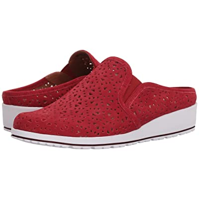 Walking Cradles Freedom (Red Perfed Nubuck) Women