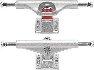 Muttern Longboard Truck Teile Silber//Schwarz perfeclan 2pcs 52mm Skateboard Truck Kingpin