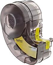 "Brady XC-500-595-CL-BK IDXPERT & LABXPERT Labels  B-595 Indoor/Outdoor Vinyl Film Black on Clear, Printable Area: 19.000"" W x 0.500"" H 1 roll (25ft.)/Cartridge"