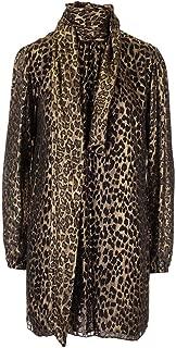 SAINT LAURENT Luxury Fashion Womens 577116Y725V8993 Gold Dress | Fall Winter 19
