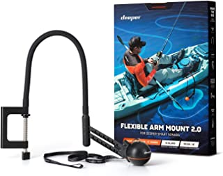 Deeper Flexible Arm 2.0 - Brazo de montaje flexible para barco de pesca, Bellyboot y kayak