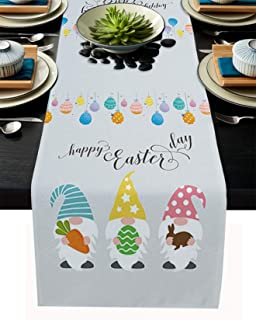 Amazon Com Table Runners Easter Table Runners Kitchen Table Linens Home Kitchen