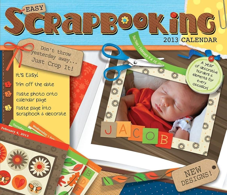 熟考する宅配便キネマティクスEasy Scrapbooking Crop-a-Day 2013 Day-to-Day Calendar