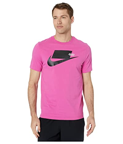 Nike NSW Sports Pack Short Sleeve Tee (Active Fuchsia/Black) Men