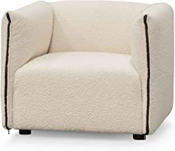 Hinton Armchair - Ivory White Boucle