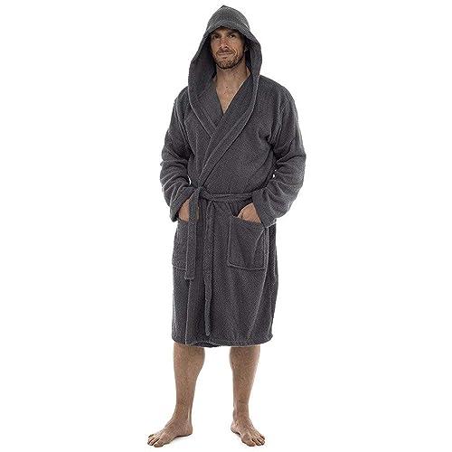 bf3a297d66 Men Towelling Robe 100% Cotton Terry Towel Shawl Collar Bathrobe Dressing  Gown Bath Robe Perfect