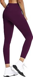 "BUBBLELIME 22""/26"" Women's Yoga Leggings High Compression Workout Pants High Waist Non See-Through UPF30+"