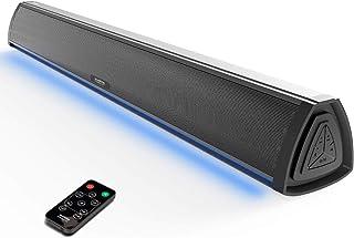 comprar comparacion Barra de Sonido TV con Bluetooth, Altavoces Barras para Television, Videojuegos, Música, Soundbar Home Cinema, Oficina y P...