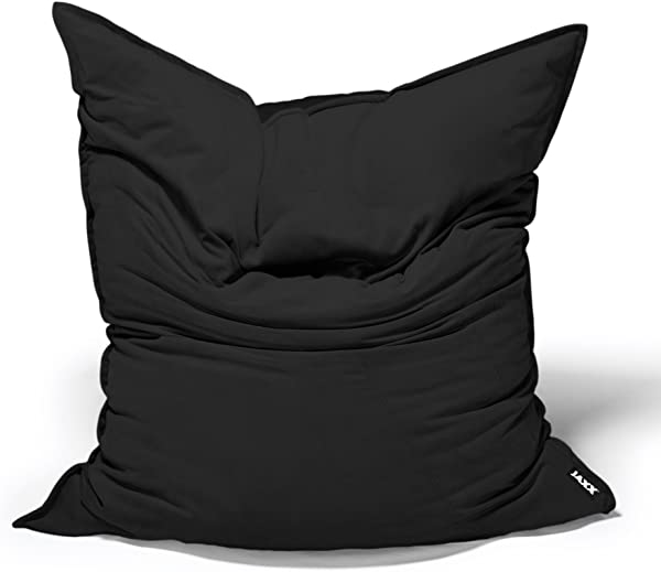Jaxx Bean Bags Saxx Velvet Twill Bean Bag Floor Pillow 3 5 Feet Black