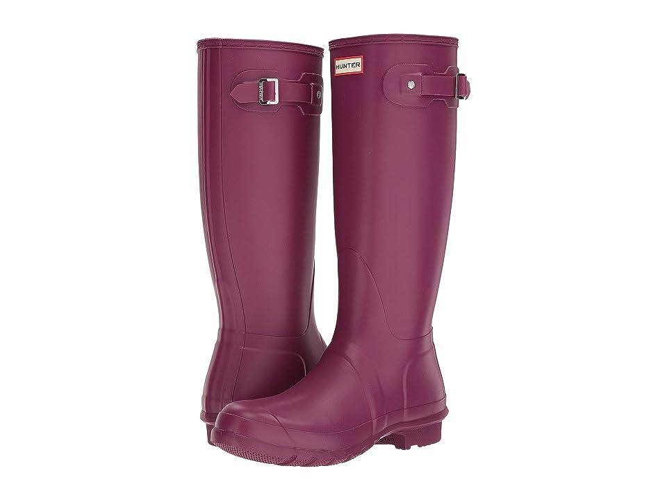 Hunter Original Tall Rain Boots (Violet) Women