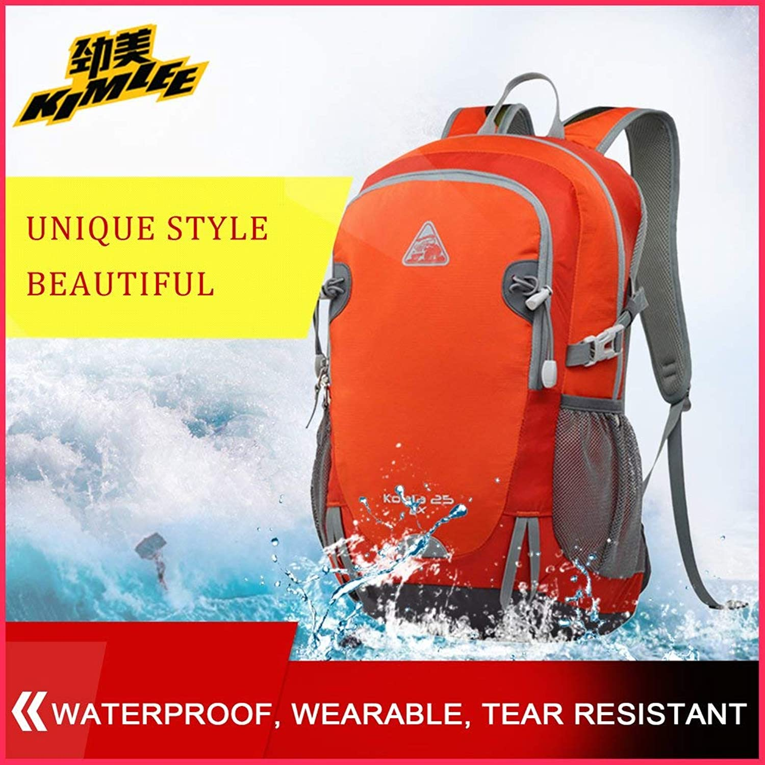 YTYC Travelling Hiking Backpack Computer Interlayer Double SBS Zipper Head