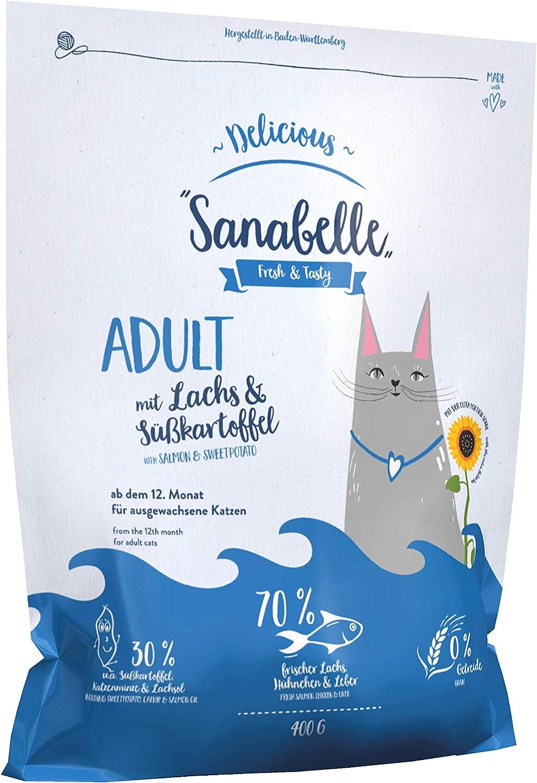 Sanabelle Delicious Adult | con Salmón y Batata | Comida Seca ...