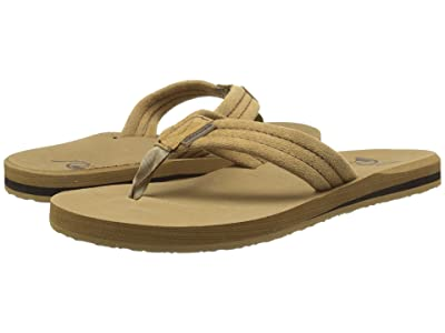 Quiksilver Carver Suede (Tan Solid) Men