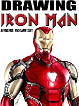Clip: Drawing Iron Man Avengers: Endgame Suit