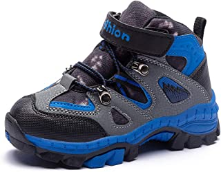 KAOTE Kids Hiking Boots Snow Boots Boys Girls Winter Boots Outdoor Warm Shoes (Little Kid/Big Kid)