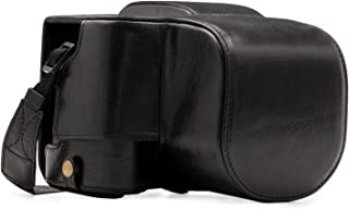 MegaGear Ever Ready Genuine Leather Camera Case Compatible with Leica V-Lux (Typ 114)