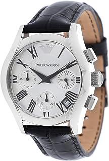 Emporio Armani Women's Quartz Watch Ar0670 With Leather Strap, Analog Display