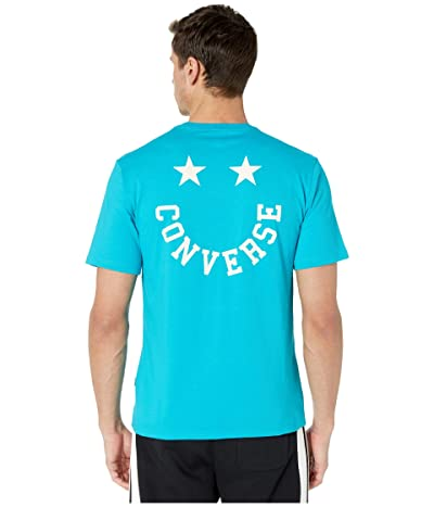 Converse Happy Face Graphic Tee (Rapid Teal) Men
