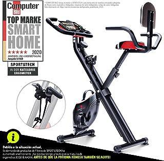 Sportstech Bicicleta estática Plegable F-Bike X100-B con