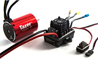 Dynamite Tazer 1/10 6-Pole 3300Kv Waterproof/ESC Motor Combo V2, DYNS0600