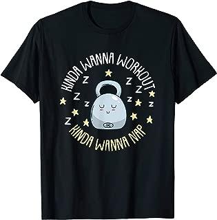 Wanna Workout, Wanna Take A Nap I Funny Fitness Gym T-Shirt
