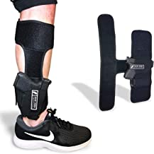Ankle Holster for Law Enforcement, Military, Personal Protection and Concealed Carry | B.U.G Leg Holster | Fits: Glock 43, 42, 33, 30, 27, 26 M&P Shield 9mm, Bodyguard .380, Ruger LCP, LC9, Sig Sauer
