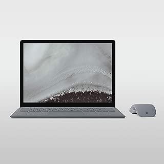 Microsoft Surface Laptop 2 (LQN-00014), Thin & Light Laptop, Intel Core i5-8250U, 13.5 Inch, 256GB SSD, 8GB RAM, Intel UHD Graphics, Windows 10, Eng-Ara KB, Silver [Middle East Version]