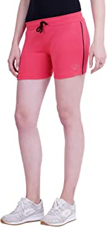 Trinity Women's Shorts (116) Cotton Stretch Lycra Comfortable Gym wear Sports Wear Style Shorts