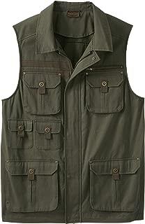Boulder Creek by KingSizeBoulder Creek Men's Big & Tall Multi-Pocket Vest