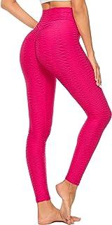 SEASUM Women's High Waist Yoga Pants Scrunched Booty...