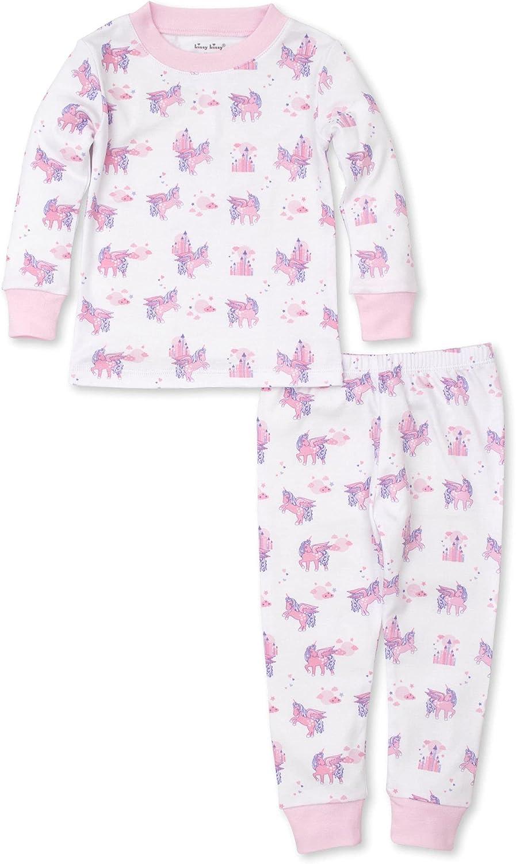 Kissy Kissy Baby-Girls Infant Pajamas Unicorn Nights Print Long Pajamas Set