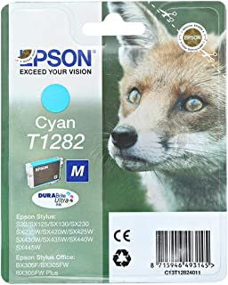 Epson Toner Cartridge - T-1282, Cyan