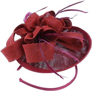 sharprepublic ダービー 教会帽子 ハット 羽 20年代 レディース エレ パーティー 茶会 コスチューム装飾
