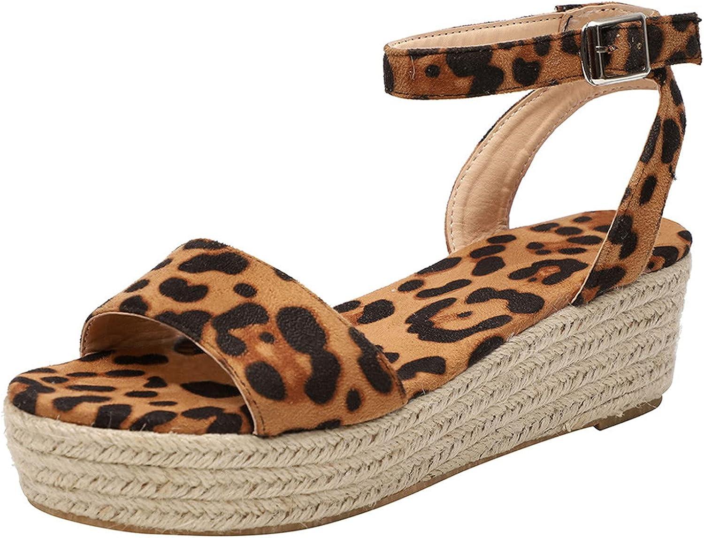 Fullwei Women 2021 Platform Espadrilles Cheap super special price shop Sandals Casual Comfy Cut