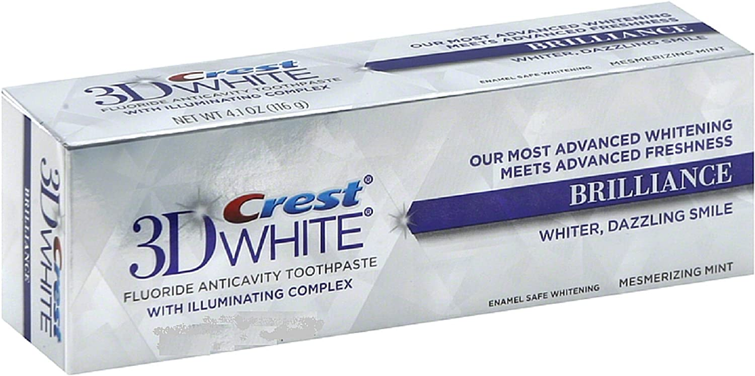 Crest 3D White Vivid Fluoride Selling OFFicial rankings - oz Anticavity Toothpaste 0.85