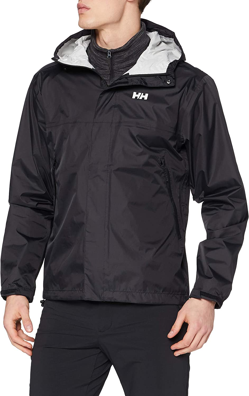 Helly-Hansen Men's Loke Waterproof Windproof Breathable Adventure Hiking Rain Jacket with Hood