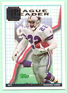 Emmitt Smith 1994 Topps League Leader #118 - Dallas Cowboys
