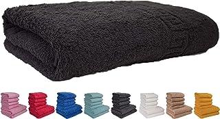 SPA 30 x 15 Pulgadas Yoga QMIN Toalla de Mano Color Negro Toalla de Cara Absorbente hogar con dise/ño de Tabla de Cine Toalla de Playa para Gimnasio Deportes Cocina