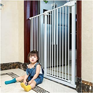 Expandable Baby Gates for Stairs Fence Children's Baby Kitchen Fence Free Punch Home Indoor Protective Door Self Closing