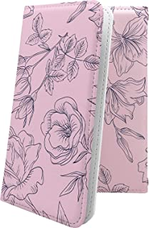 ケース isai V30+ LGV35 互換 手帳型 花柄 花 フラワー 薔薇 バラ ローズ イサイ プラス 和柄 和風 日本 japan 和 isaiv30 plus おしゃれ