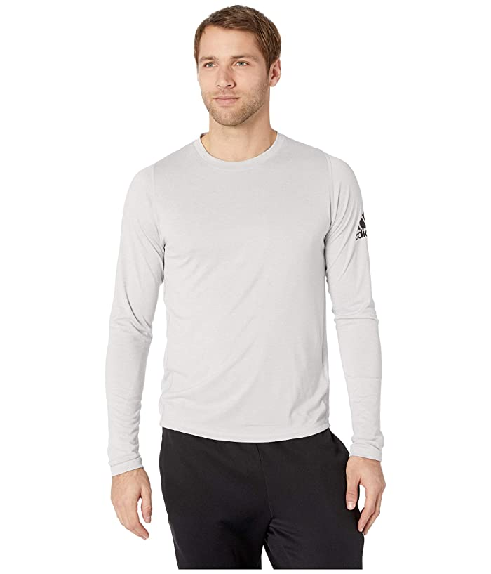 adidas Freelift Long Sleeve T-Shirt (Grey Two F17/White) Men