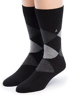 Warrior Alpaca Socks - Men's Argyle Premium Baby Alpaca Socks
